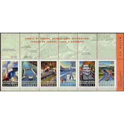 canada stamp 1734ai canals 1998