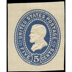 us stamp postal stationery u u331 grant 5 1887