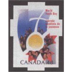 canada stamp 1957i world youth day 48 2002