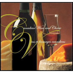 canada stamp 2171a canadian wine and cheese 2006