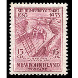 newfoundland stamp 222i gilbert on the squirrel 15 1933