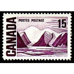 canada stamp 463p i bylot island by lawren harris 15 1972