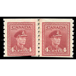 canada stamp 267re pa king george vi 1943