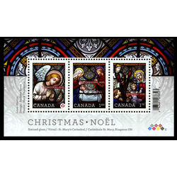 canada stamp 2490 christmas stained glass 2011
