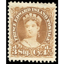prince edward island stamp 10i queen victoria 4 d 1870