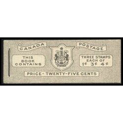 canada stamp complete booklets bk bk43a booklet 1950