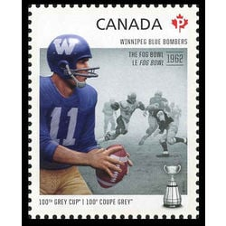 canada stamp 2567f winnipeg blue bombers ken ploen 1935 the fog bowl 2012