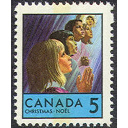 canada stamp 502p children praying 5 1969