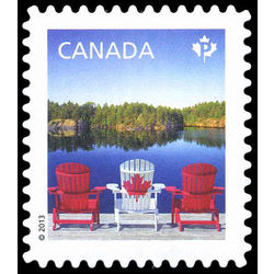 canada stamp 2612a chairs on dock 2013
