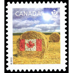 canada stamp 2613a hay bale 2013