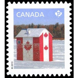 canada stamp 2616a fishing hut 2013