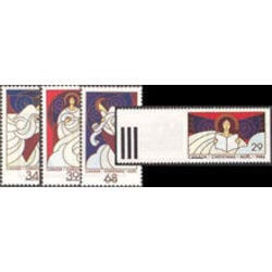 Canada stamp 1113 6 christmas angels 1986